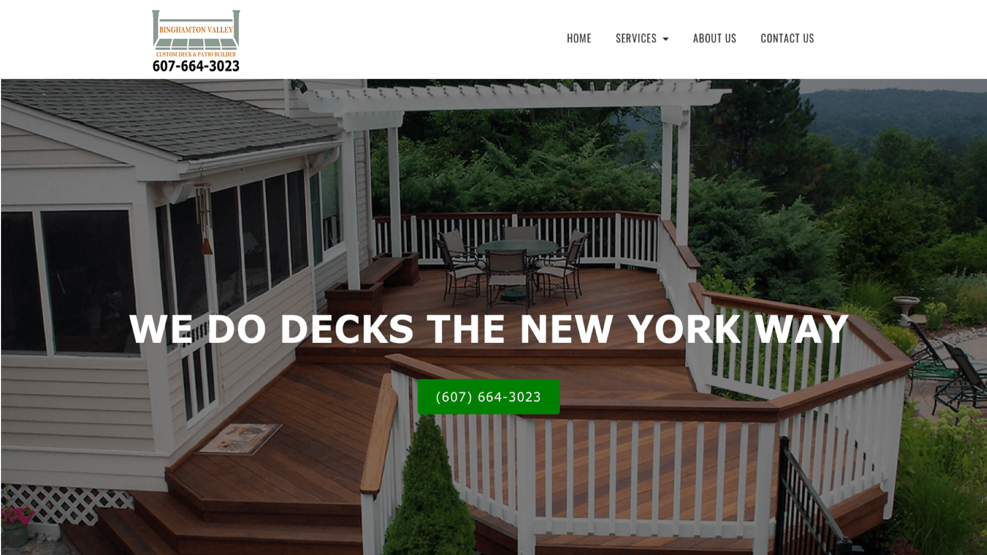 Binghamton Valley Decks and patios