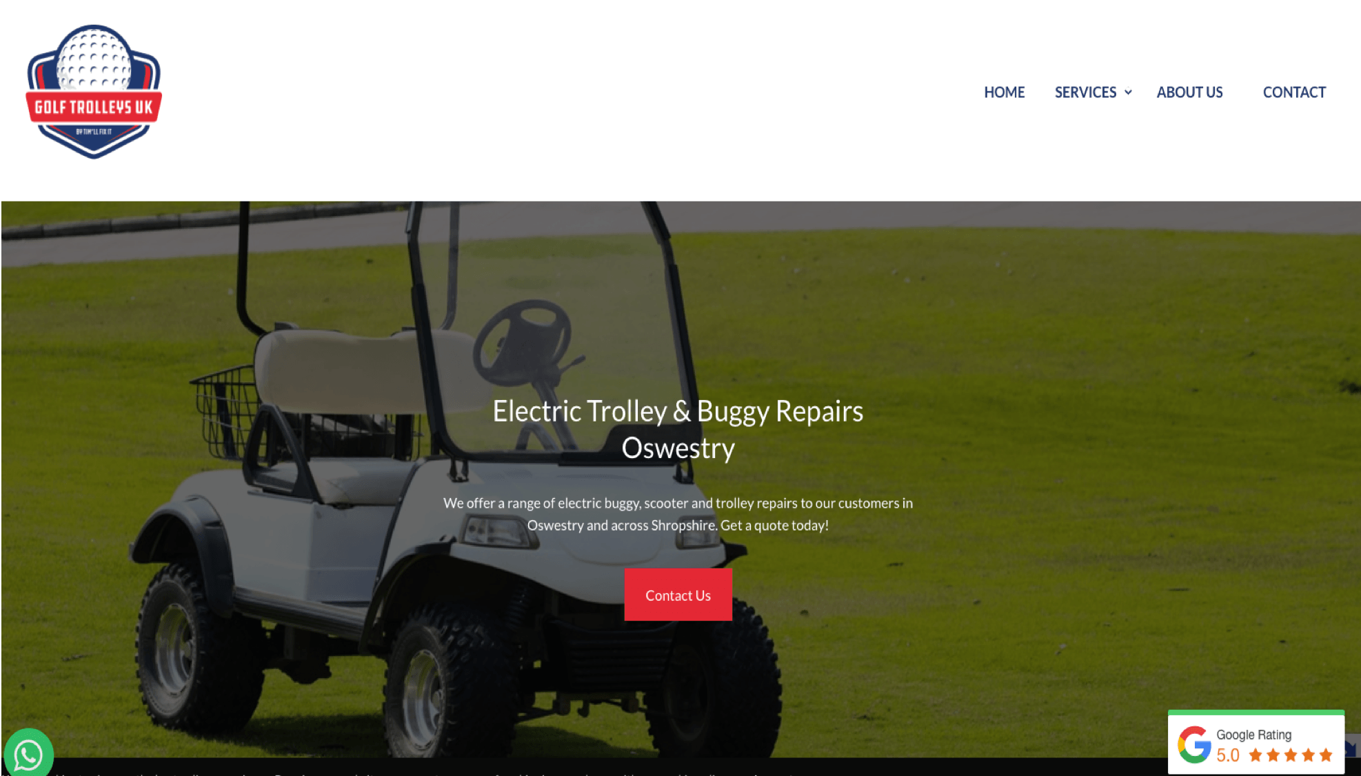 golf trolley uk